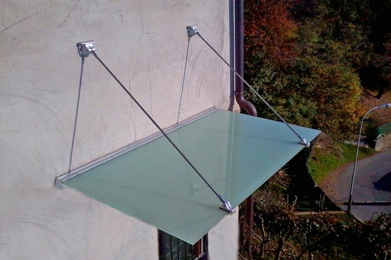 Produzione pensiline in ferro e alluminio milano bergamo deltasystem srl - Scale in vetro e acciaio prezzi ...