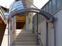 Casa immobiliare accessori copertura scala esterna - Copertura scala esterna ...